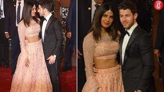 WATCH: Priyanka Chopra and Nick Jonas walk hand-in-hand at Isha Ambani's wedding