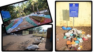 They Came, They Littered, They Went! Mounds Of Garbage All Over Old Goa After The Feast
