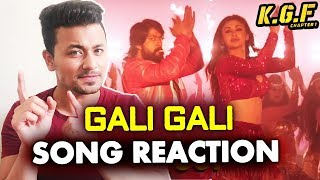 KGF: Gali Gali Song | REVIEW | REACTION | Superstar Yash | Mouni Roy - Kolar Gold Fields