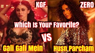 Gali Gali Mein Vs Husn Parcham l Which Song You Liked The Most?