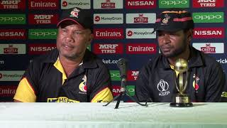 Post Match Press Conference - Tony Ura and John Ovia of PNG - 6 March 2018