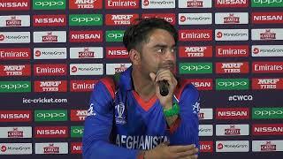 Post Match Press Conference - Rashid Khan - 6 March 2018