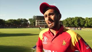 Highlights from Zimbabwe v Afghanistan match