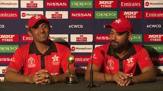 Post Match Press Conference - Babar Hayat and Ehsan Khan - 8 March 2018