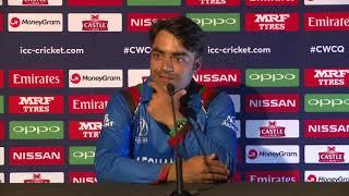 Post Match Press Conference - Rashid Khan - 8 March 2018