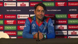 Post Match Press Conference - Rashid Khan - 10 March 2018