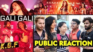 Gali Gali Song PUBLIC REACTION  | KGF | Superstar Yash, Mouni Roy