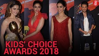 Deepika Padukone, Varun Dhawan, Alia Bhatt at Kids Choice Awards 2018