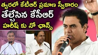 KCR Appoints KTR As TRS Working President | Next CM KTR | No Chance For Harish Rao |