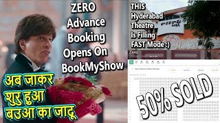 ZERO Advance Booking Started On BookMyShow I This Hyderabad Theater 50 Percent Tickets SOLD