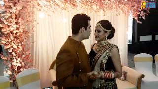Piya Albela Actress Ritu Chauhan & Ankur Malhotra Wedding Reception - Close Romantic Dance