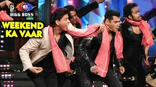 Bauua Shahrukh Khan And Salman Khan ISSAQBAAZI On Big Boss 12 Weekend Ka Vaar