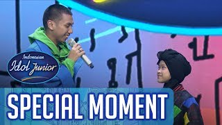 Kocak! Raisya Ditantang Battle Rap Bareng Kak Rayi - GRAND FINAL - Indonesian Idol Junior 2018