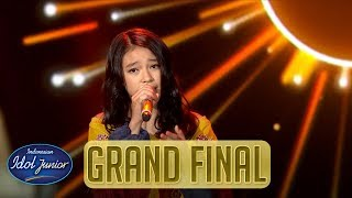 ANNETH - REWRITE THE STARS  (Zac Efron & Zendaya) - GRAND FINAL - Indonesian Idol Junior 2018