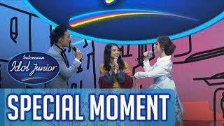 "Delon Menjadi Kepala Suku ""Anneth Omagah"" - GRAND FINAL - Indonesian Idol Junior 2018"