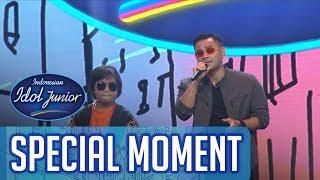 Keren! Gogo nyanyi bareng Judika! - GRAND FINAL - Indonesian Idol Junior 2018