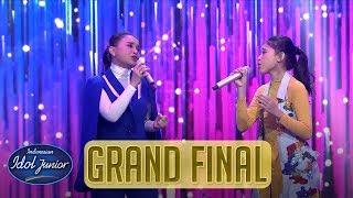 ANNETH ft. ROSSA - JANGAN HILANGKAN DIA - GRAND FINAL - Indonesian Idol Junior 2018