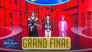 RESULT - GRAND FINAL - Indonesian Idol Junior 2018