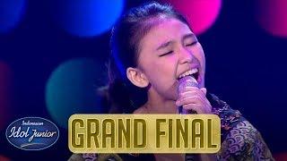 ANNETH - EVERYBODY HAS A DREAM (Billy Joel) - Indonesian Idol Junior 2018