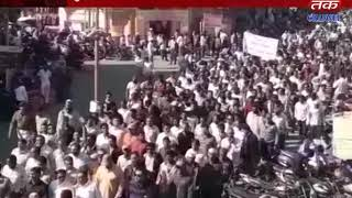 Porbandar : Protests by the Kharwa community