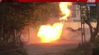 Umargam : Gas leak blast fire
