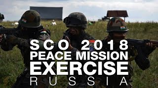 SCO 2018 peace mission exercise brings India, Pakistan together