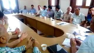 बैजनाथ हल्के में प्रमुखता के साथ पनप रही तीन मुख्य समस्याओं पर चर्चा