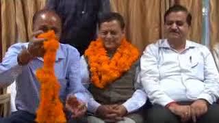 दुधारू पशु सुधार सभा   में अब भाजपा नेता रविंद्र परिहार  की चेयरमैन पद पर ताजपोशी हुई है