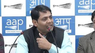 सीलिंग नही रुकी तो आम आदमी पार्टी दिल्ली के व्यापारियों के साथ मिलकर दिल्ली में करेगी विरोध प्रदर्शन