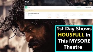 KGF Movie Gets Housefull In Mysore Theatre For Day 1