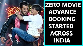 ZERO Movie Record Breaking Advance Booking  Started In INDIA I Few Shows Are Already Housefull