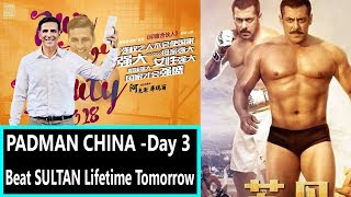 PADMAN Collection In CHINA Till Day 3 I It Will Beat Sultan Collection Tomorrow