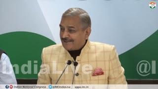 LIVE: Pramod Tiwari addresses media at congress HQ