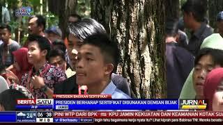 Jokowi Bagikan 6.744 Sertifikat Tanah di Jambi