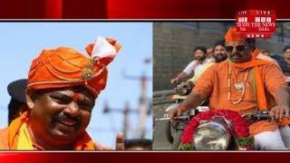 [ Hyderabad ] BJP गोशामहल विधायक टी. राजा सिंह ने विजय रेली निकाली