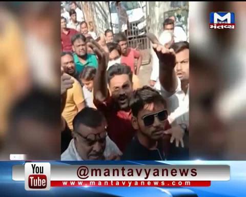 Surat: Ruckus between Traffic Police & People