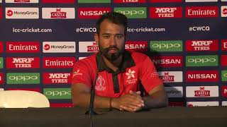 Post Match Press Conference - Babar Hayat - 12 March 2018