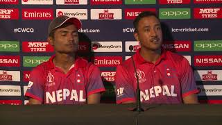 Post Match Press Conference - Paras Khadka and Rohit Kumar - 12 March 2018