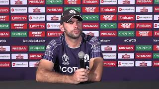 Post Match Press Conference - Kyle Coetzer - 12 March 2018