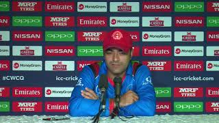 Post Match Press Conference - Rashid Khan - 15 March 2018