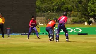 Highlights from Netherlands v Nepal, 7th Place Play off at Kwekwe Sports Club - 17 March 2018