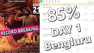 KGF Record Breaking Advance Booking In Bengluru Where 85 Percent Shows Almost Full For Day 1