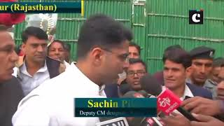 Oath ceremony: We will work in public interest: Raj CM Gehlot; all set for a new start, says Pilot
