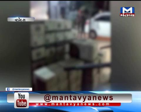 Vadodara: Police has caught a truck filled with Liquor