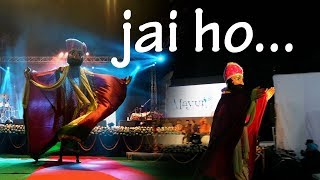 Jai Ho song | Puppet show underway at Mayur Utsav | Mayur Vihar, NewDelhi