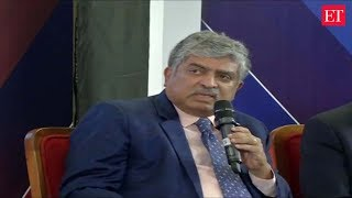 Automation reducing jobs in manufacturing sector: Nandan Nilekani | ET CEO Roundtable