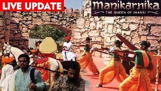 Manikarnika Grand Trailer Launch Setup | Wadala Imax | Kangana Ranaut, Ankita Lokhande