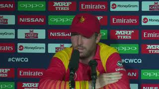Post Match Press Conference - Brendan Taylor - 19 March 2018