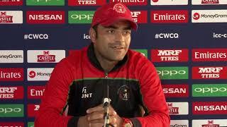 Post Match Press Conference - Rashid Khan - 20 March 2018