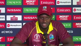 Windies captain Jason Holder Pre final press conference - March 24 2018